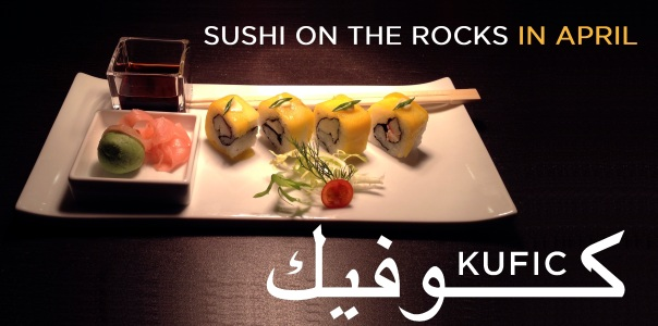 Sushi on the rocks3