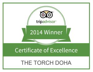 Tripadvisor Winner 2014